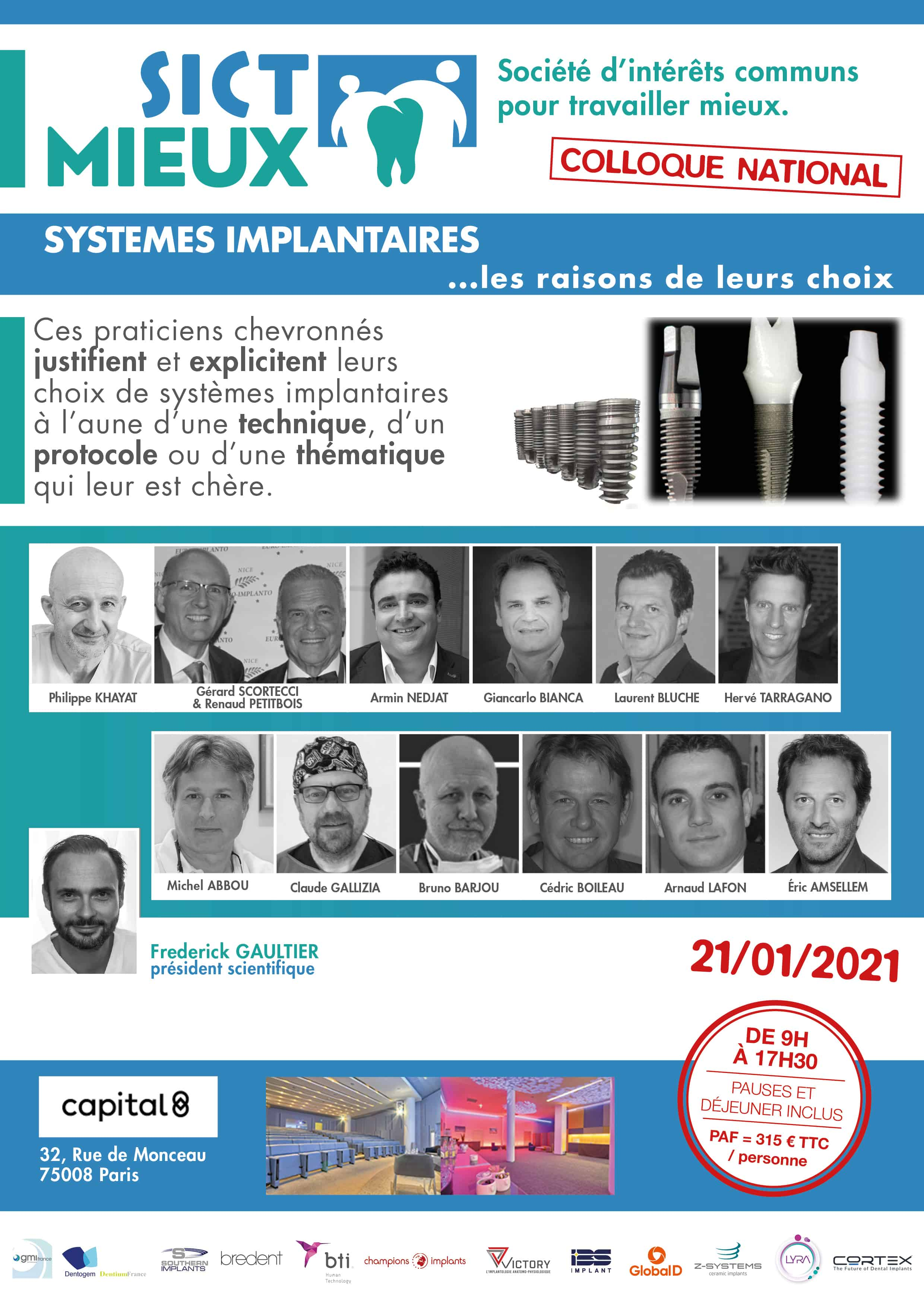 sictmieux - systemes implantaires web